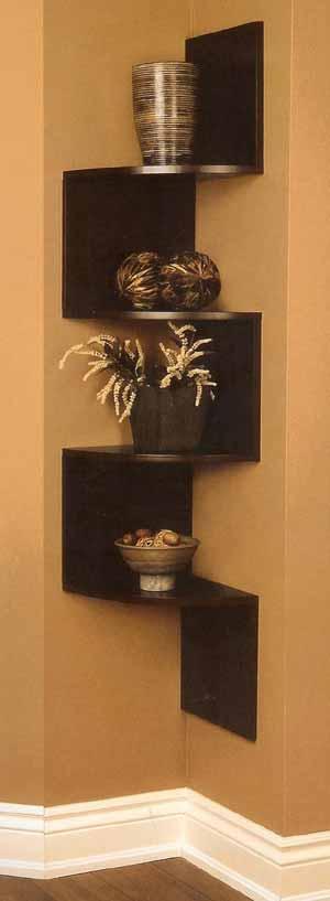 India bathroom design - Wooden Corner Shelves Srena S Weblog
